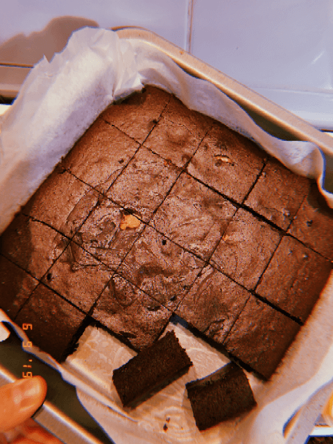 Vegan Fudge Brownie Recipe by Crumbs Recipes